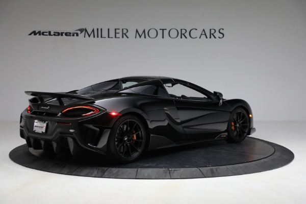 Used 2020 McLaren 600LT Spider for sale Call for price at Bentley Greenwich in Greenwich CT 06830 24