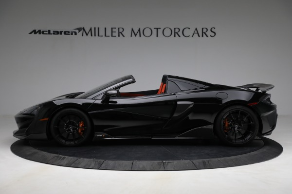 Used 2020 McLaren 600LT Spider for sale Call for price at Bentley Greenwich in Greenwich CT 06830 3
