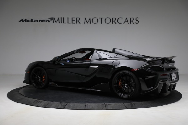Used 2020 McLaren 600LT Spider for sale Call for price at Bentley Greenwich in Greenwich CT 06830 4
