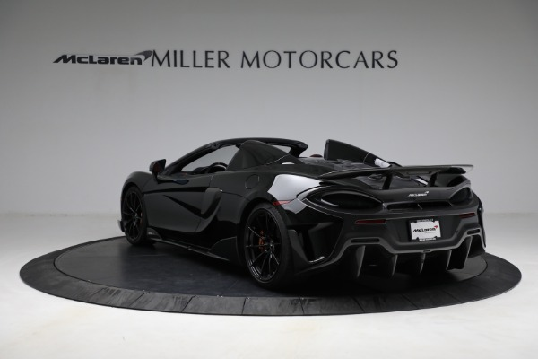 Used 2020 McLaren 600LT Spider for sale Call for price at Bentley Greenwich in Greenwich CT 06830 5