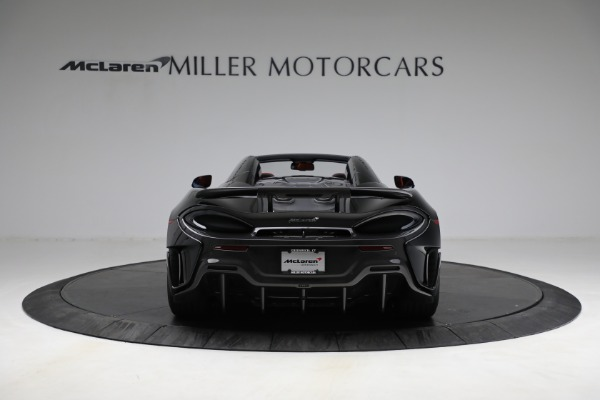 Used 2020 McLaren 600LT Spider for sale Call for price at Bentley Greenwich in Greenwich CT 06830 6
