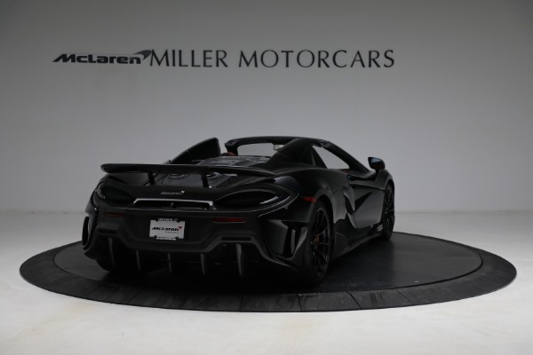 Used 2020 McLaren 600LT Spider for sale Call for price at Bentley Greenwich in Greenwich CT 06830 7