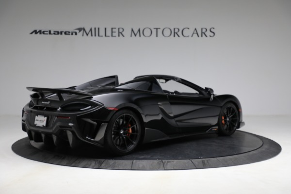 Used 2020 McLaren 600LT Spider for sale Call for price at Bentley Greenwich in Greenwich CT 06830 8