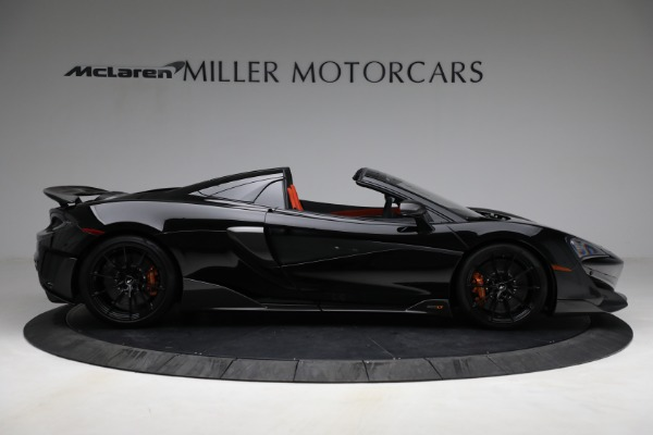 Used 2020 McLaren 600LT Spider for sale Call for price at Bentley Greenwich in Greenwich CT 06830 9