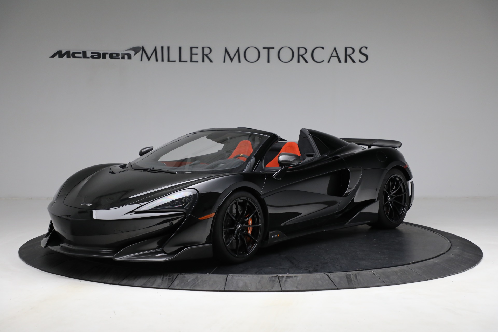 Used 2020 McLaren 600LT Spider for sale Call for price at Bentley Greenwich in Greenwich CT 06830 1