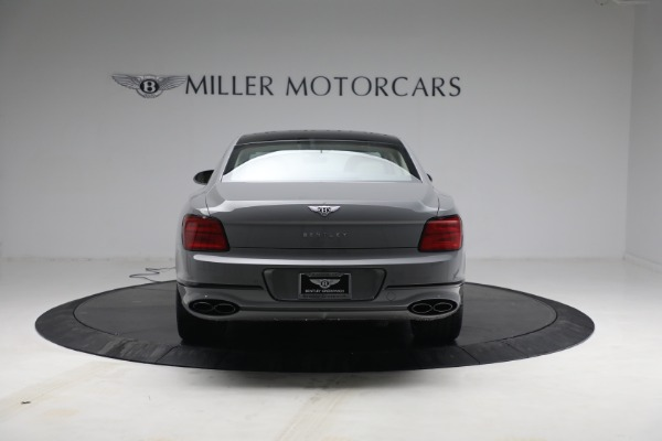 New 2022 Bentley Flying Spur Flying Spur V8 for sale Call for price at Bentley Greenwich in Greenwich CT 06830 6