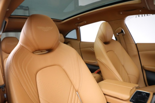 New 2021 Aston Martin DBX for sale $203,886 at Bentley Greenwich in Greenwich CT 06830 18