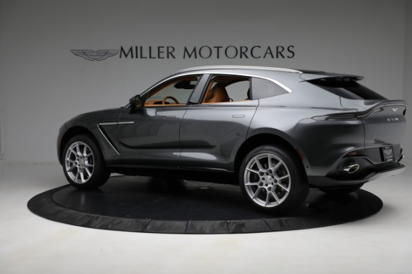 New 2021 Aston Martin DBX for sale $203,886 at Bentley Greenwich in Greenwich CT 06830 3