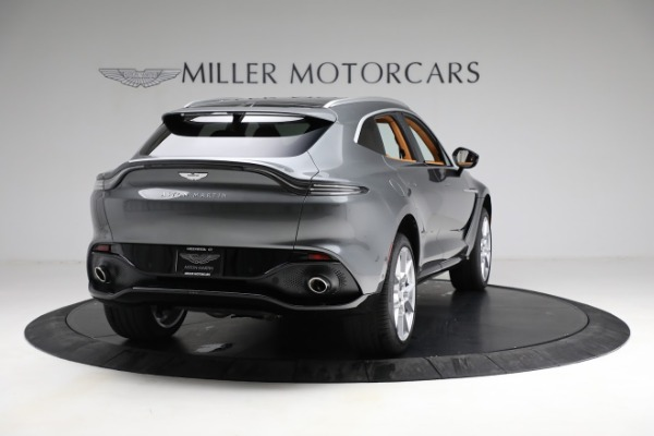 New 2021 Aston Martin DBX for sale $203,886 at Bentley Greenwich in Greenwich CT 06830 6