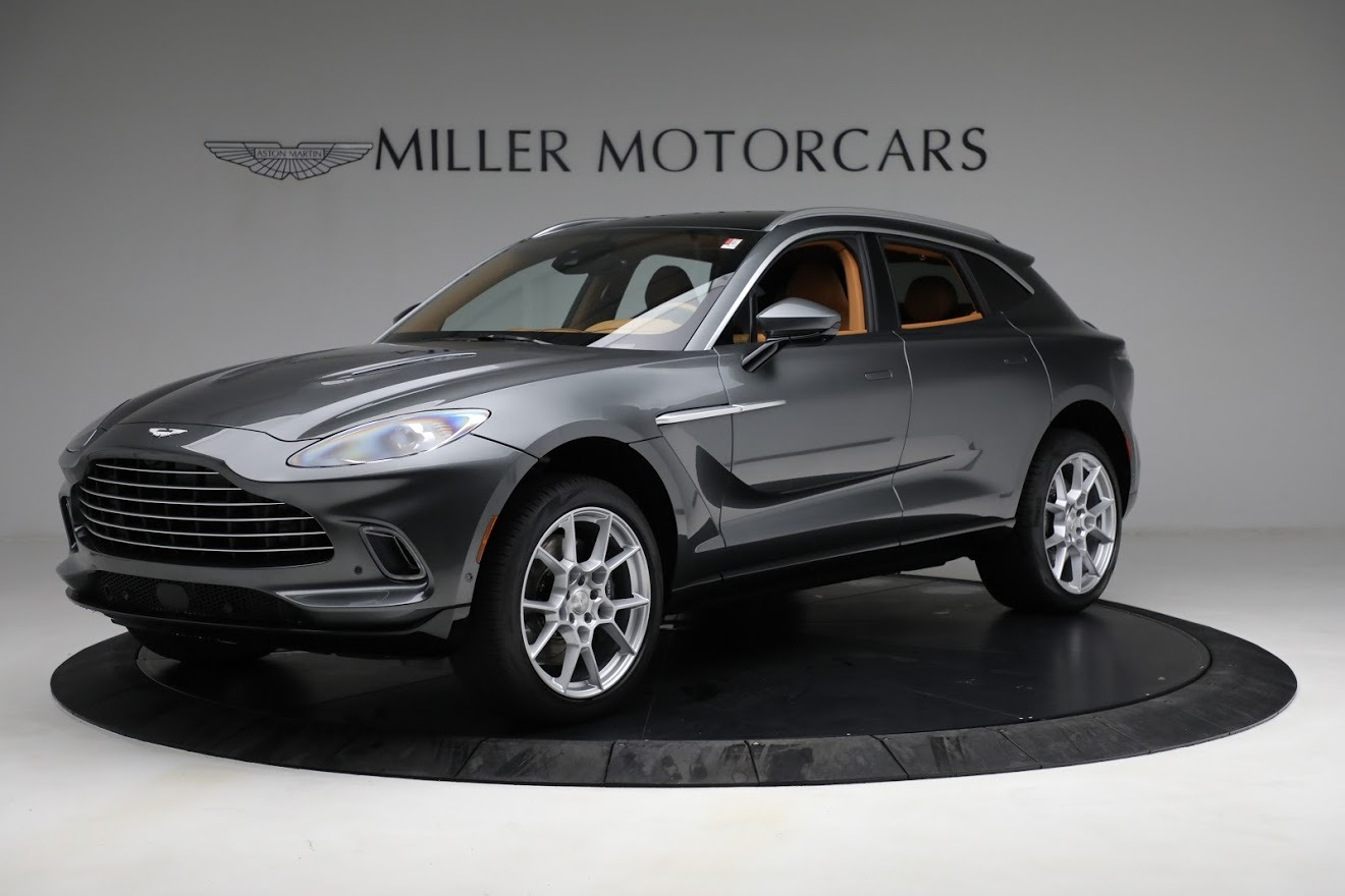 New 2021 Aston Martin DBX for sale $203,886 at Bentley Greenwich in Greenwich CT 06830 1