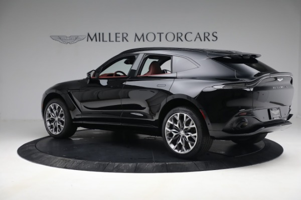 New 2021 Aston Martin DBX for sale $200,686 at Bentley Greenwich in Greenwich CT 06830 3