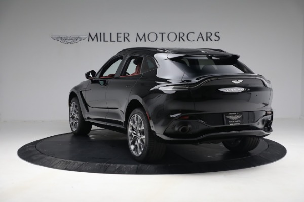 New 2021 Aston Martin DBX for sale $200,686 at Bentley Greenwich in Greenwich CT 06830 4