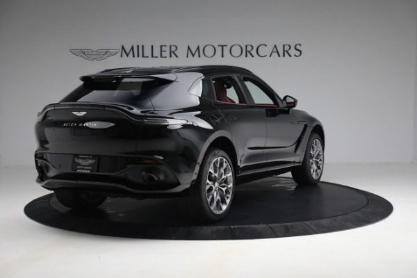 New 2021 Aston Martin DBX for sale $200,686 at Bentley Greenwich in Greenwich CT 06830 6