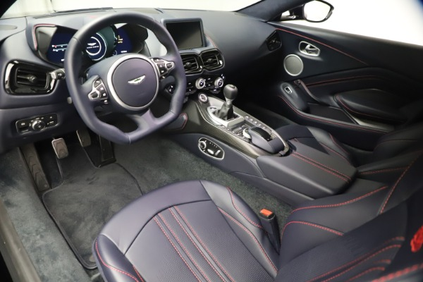 New 2021 Aston Martin Vantage for sale $189,686 at Bentley Greenwich in Greenwich CT 06830 13