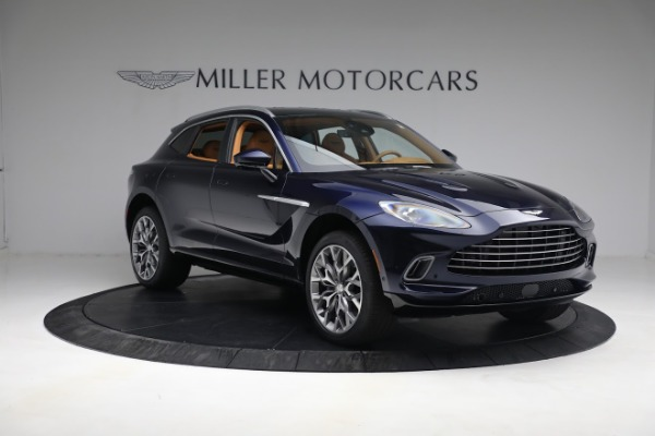 New 2021 Aston Martin DBX for sale $209,586 at Bentley Greenwich in Greenwich CT 06830 10