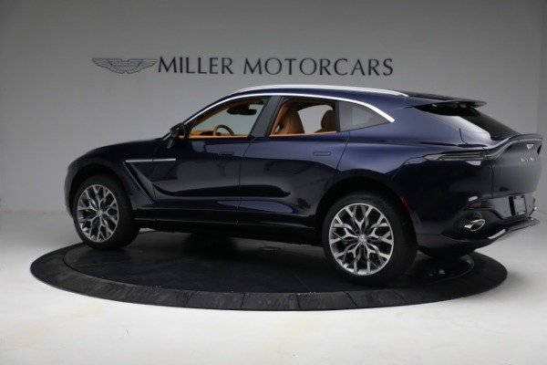 New 2021 Aston Martin DBX for sale $209,586 at Bentley Greenwich in Greenwich CT 06830 3
