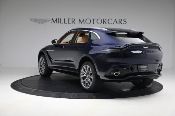New 2021 Aston Martin DBX for sale $209,586 at Bentley Greenwich in Greenwich CT 06830 4