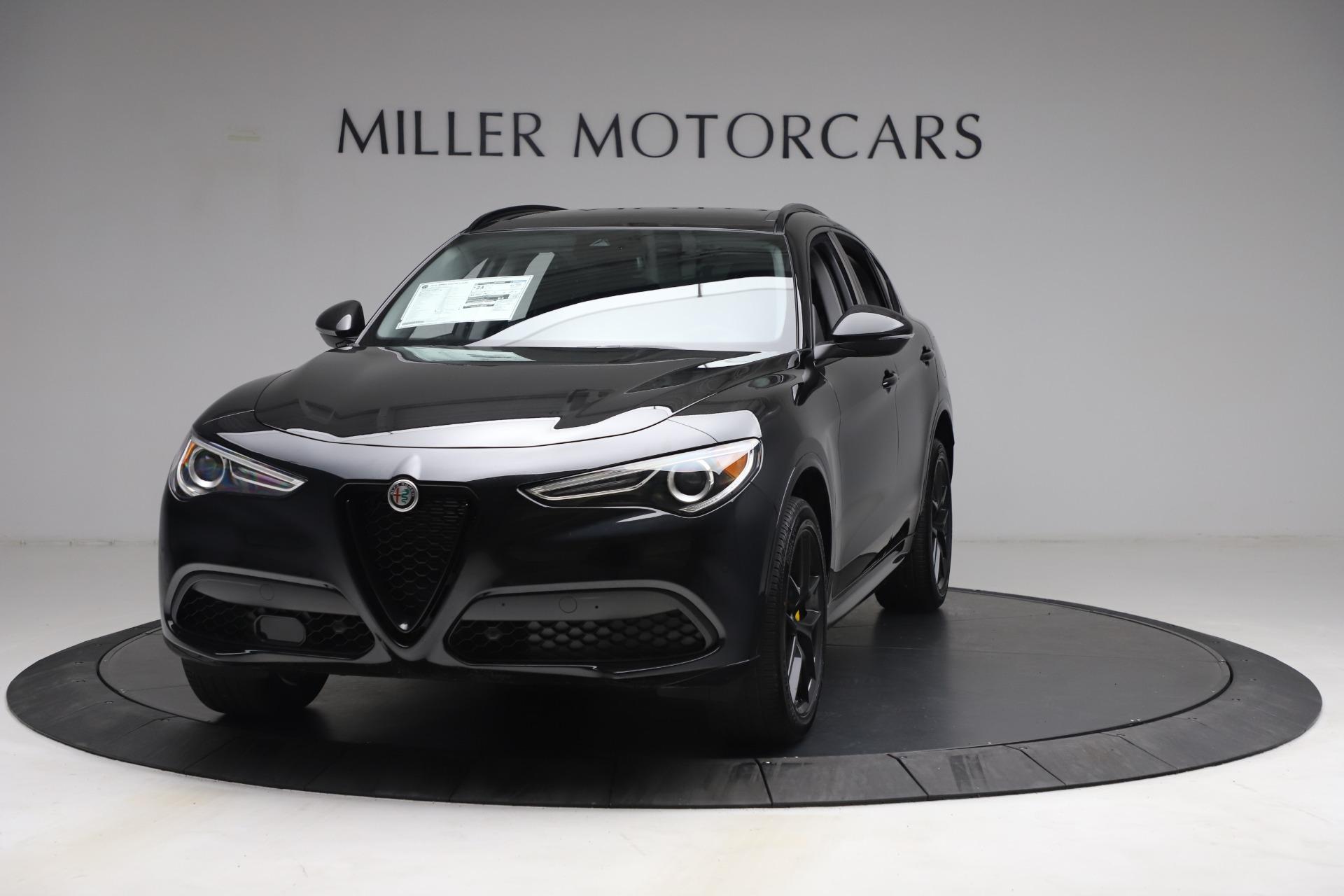 New 2021 Alfa Romeo Stelvio Ti for sale $51,955 at Bentley Greenwich in Greenwich CT 06830 1