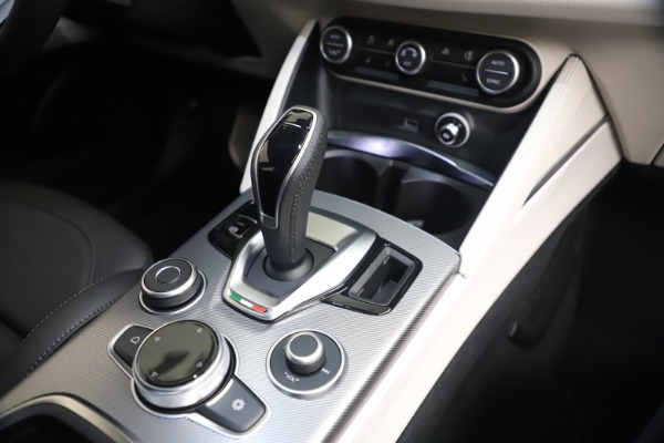 New 2021 Alfa Romeo Stelvio Ti Sport Q4 for sale $57,200 at Bentley Greenwich in Greenwich CT 06830 16