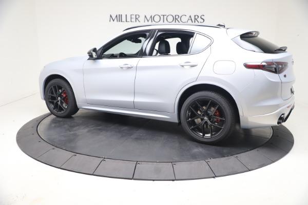 New 2021 Alfa Romeo Stelvio Ti Sport Q4 for sale $57,200 at Bentley Greenwich in Greenwich CT 06830 4