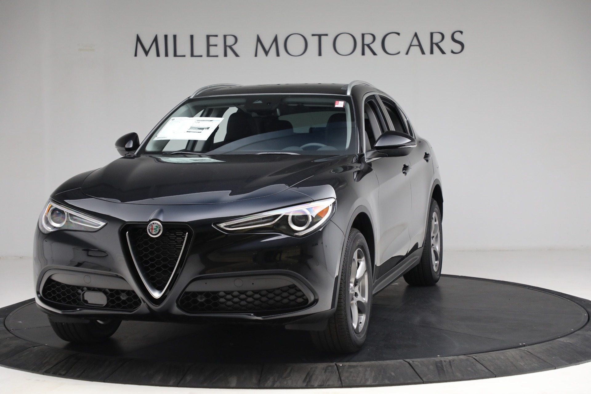 New 2021 Alfa Romeo Stelvio Q4 for sale $49,945 at Bentley Greenwich in Greenwich CT 06830 1