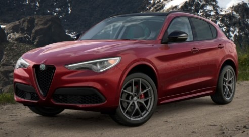 New 2021 Alfa Romeo Stelvio Ti Q4 for sale $52,045 at Bentley Greenwich in Greenwich CT 06830 1