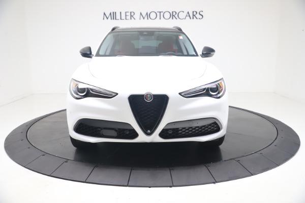 New 2021 Alfa Romeo Stelvio Ti Q4 for sale $53,740 at Bentley Greenwich in Greenwich CT 06830 13