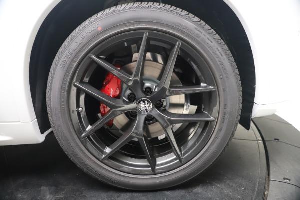 New 2021 Alfa Romeo Stelvio Ti Q4 for sale $53,740 at Bentley Greenwich in Greenwich CT 06830 23
