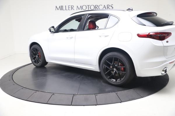 New 2021 Alfa Romeo Stelvio Ti Q4 for sale $53,740 at Bentley Greenwich in Greenwich CT 06830 4