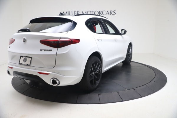New 2021 Alfa Romeo Stelvio Ti Q4 for sale $53,740 at Bentley Greenwich in Greenwich CT 06830 8