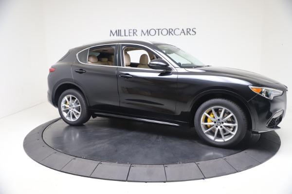 New 2021 Alfa Romeo Stelvio Ti Q4 for sale $54,755 at Bentley Greenwich in Greenwich CT 06830 10