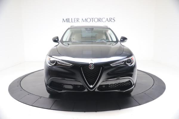 New 2021 Alfa Romeo Stelvio Ti Q4 for sale $54,755 at Bentley Greenwich in Greenwich CT 06830 12