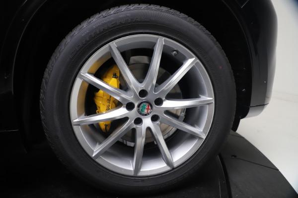 New 2021 Alfa Romeo Stelvio Ti Q4 for sale $54,755 at Bentley Greenwich in Greenwich CT 06830 13