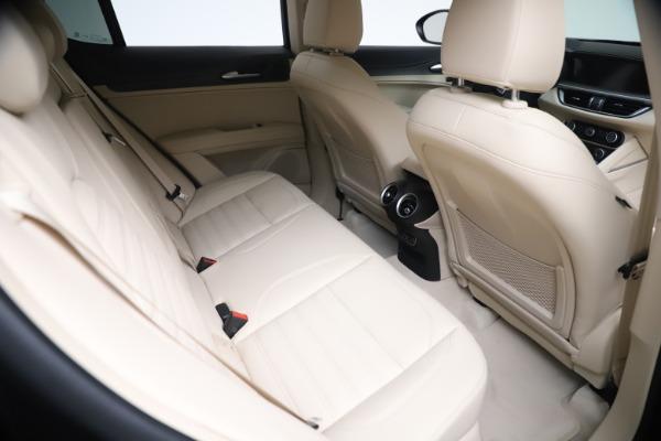 New 2021 Alfa Romeo Stelvio Ti Q4 for sale $54,755 at Bentley Greenwich in Greenwich CT 06830 22