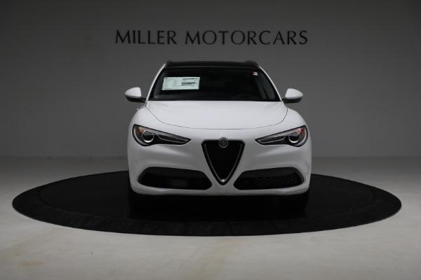New 2021 Alfa Romeo Stelvio Ti Q4 for sale $54,840 at Bentley Greenwich in Greenwich CT 06830 12