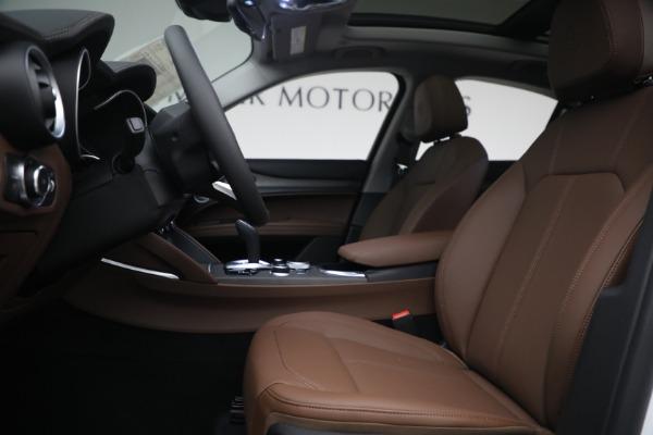 New 2021 Alfa Romeo Stelvio Ti Q4 for sale $54,840 at Bentley Greenwich in Greenwich CT 06830 14