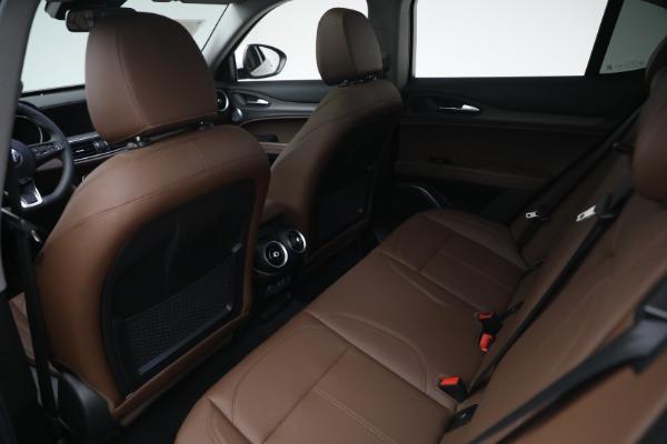 New 2021 Alfa Romeo Stelvio Ti Q4 for sale $54,840 at Bentley Greenwich in Greenwich CT 06830 22