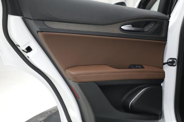 New 2021 Alfa Romeo Stelvio Ti Q4 for sale $54,840 at Bentley Greenwich in Greenwich CT 06830 26