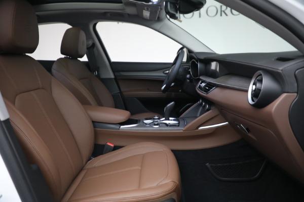 New 2021 Alfa Romeo Stelvio Ti Q4 for sale $54,840 at Bentley Greenwich in Greenwich CT 06830 28