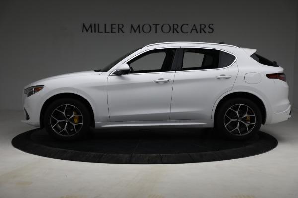 New 2021 Alfa Romeo Stelvio Ti Q4 for sale $54,840 at Bentley Greenwich in Greenwich CT 06830 3
