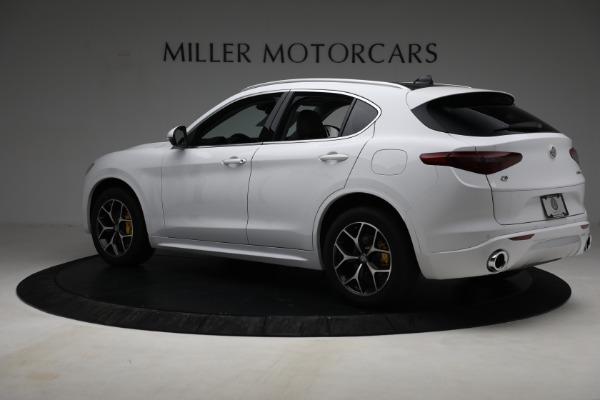 New 2021 Alfa Romeo Stelvio Ti Q4 for sale $54,840 at Bentley Greenwich in Greenwich CT 06830 4