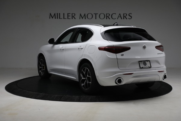 New 2021 Alfa Romeo Stelvio Ti Q4 for sale $54,840 at Bentley Greenwich in Greenwich CT 06830 5