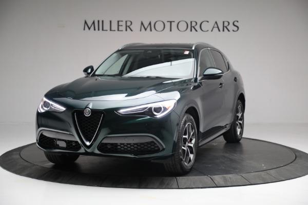 New 2021 Alfa Romeo Stelvio Ti Q4 for sale Sold at Bentley Greenwich in Greenwich CT 06830 1
