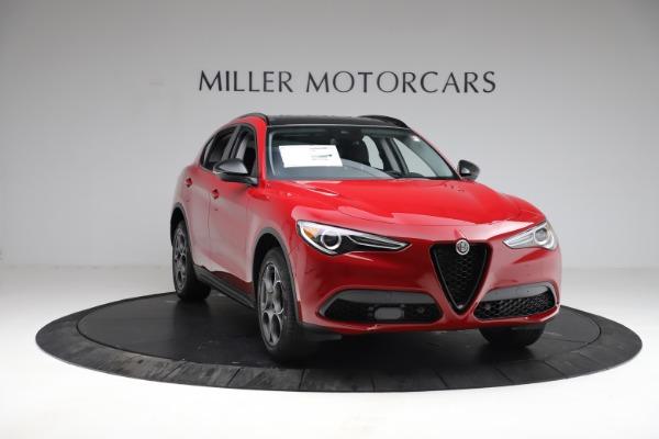 New 2021 Alfa Romeo Stelvio Q4 for sale $50,535 at Bentley Greenwich in Greenwich CT 06830 14