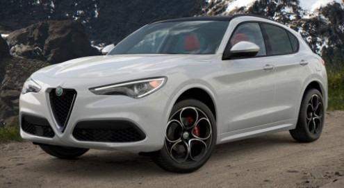 New 2021 Alfa Romeo Stelvio Ti Sport Q4 for sale $54,740 at Bentley Greenwich in Greenwich CT 06830 1