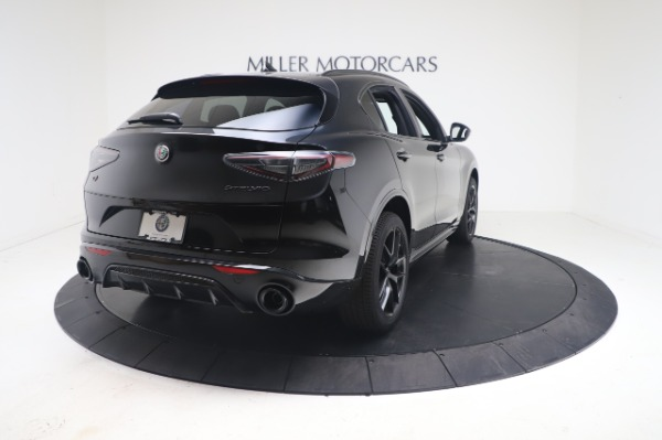 New 2021 Alfa Romeo Stelvio Ti Sport Q4 for sale $56,900 at Bentley Greenwich in Greenwich CT 06830 7
