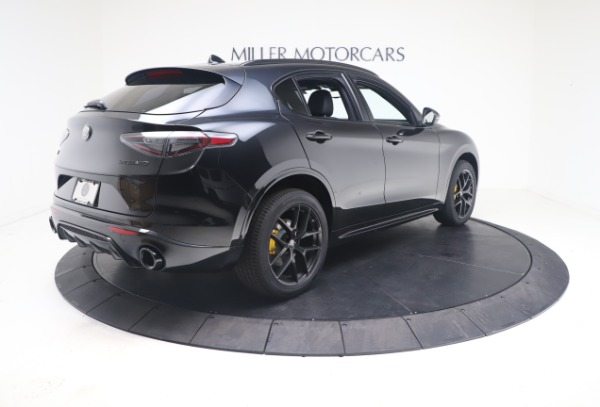 New 2021 Alfa Romeo Stelvio Ti Sport Q4 for sale $56,900 at Bentley Greenwich in Greenwich CT 06830 8