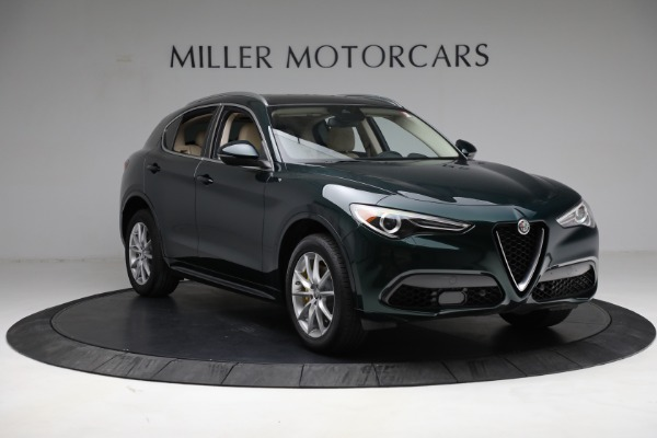 New 2021 Alfa Romeo Stelvio Ti Q4 for sale $55,205 at Bentley Greenwich in Greenwich CT 06830 11