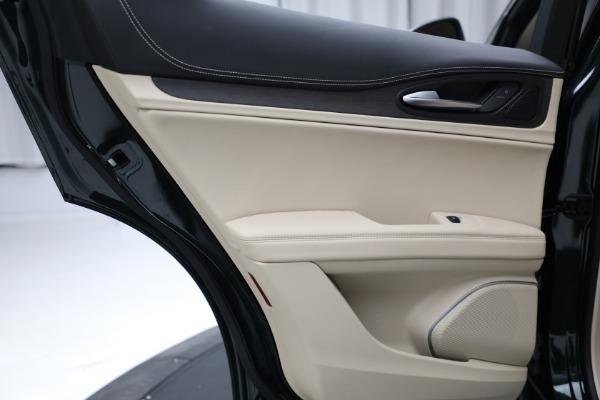 New 2021 Alfa Romeo Stelvio Ti Q4 for sale $55,205 at Bentley Greenwich in Greenwich CT 06830 22