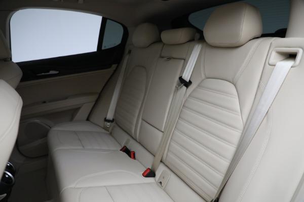 New 2021 Alfa Romeo Stelvio Ti Q4 for sale $55,205 at Bentley Greenwich in Greenwich CT 06830 25